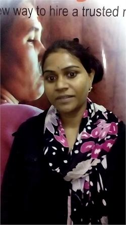 Bandana Devi Parsanthpal - Full time Cook and Baby Sitter in Gandhi Nagar in Hyderabad