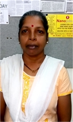 Kalpana Dhivare - Full time Maid and Cook and Baby Sitter in Hebbal in Bangalore