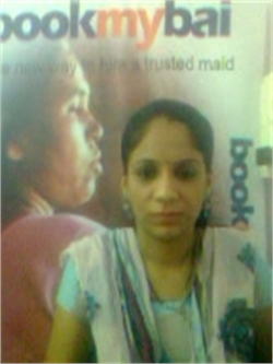 Krupali  V Soni - Full time Maid and Baby Sitter in Belathur in Bangalore