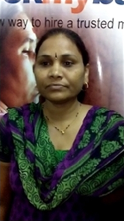 Sangeeta Poojary - Full time Cook and Baby Sitter in Chikkalasandra in Bangalore