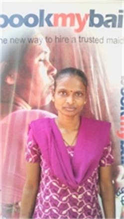 vaishali - Full time Maid and Baby Sitter in Jagajeevanram Nagar in Bangalore